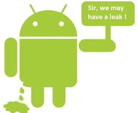 android_leak