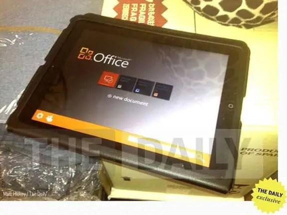 iPad-Office