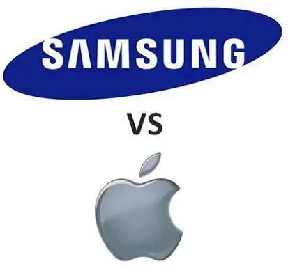 Samsung-Vs-Apple-Logo