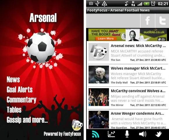 Arsenal-app