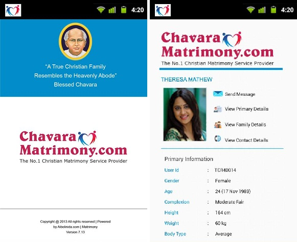Chavara-Matrimony-app