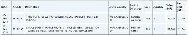 New-Samsung-Galaxy-GT-i9405-import