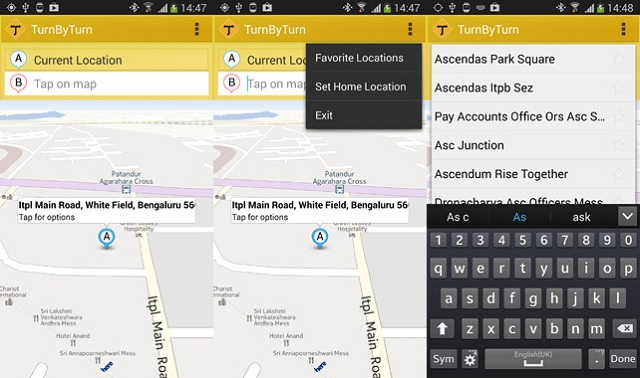 TurnbyTurn-Android-app