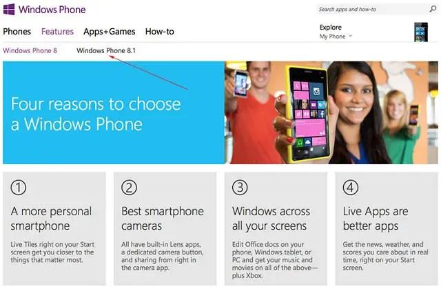 Windows-Phone-8.1-listing