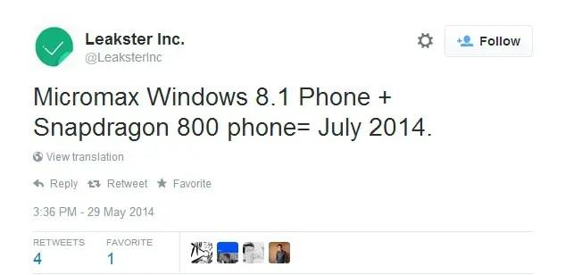 Micromax-Windows-Phone-tweet