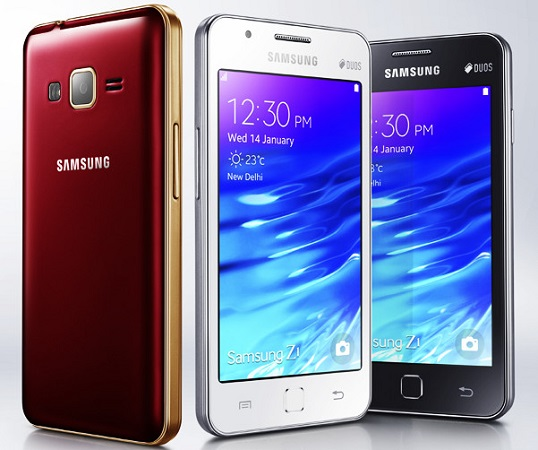 Samsung-Z1-india-official