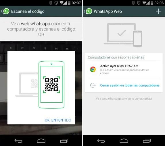 WhatsAp-web-client-screenshots