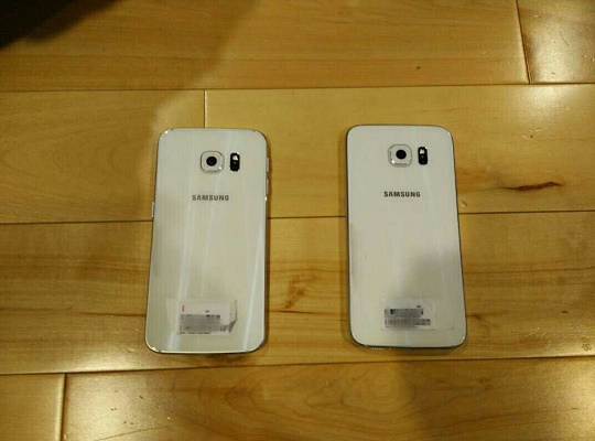 Galaxy S6 and S6 edge back