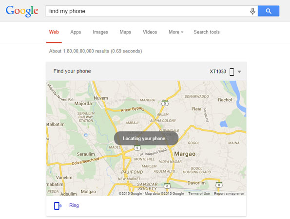 google-find-my-phone-web