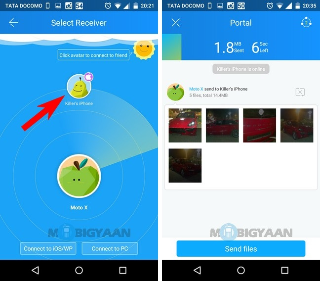 How to transfer photos from Android to iPhone (4)