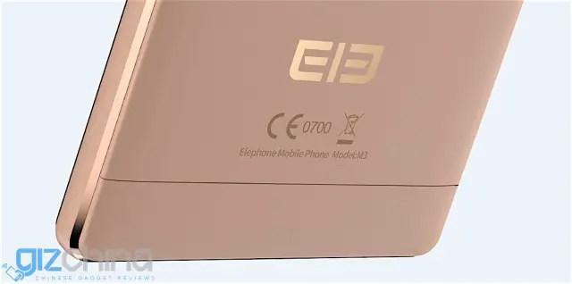 Elephone-M3-Champaign-Gold