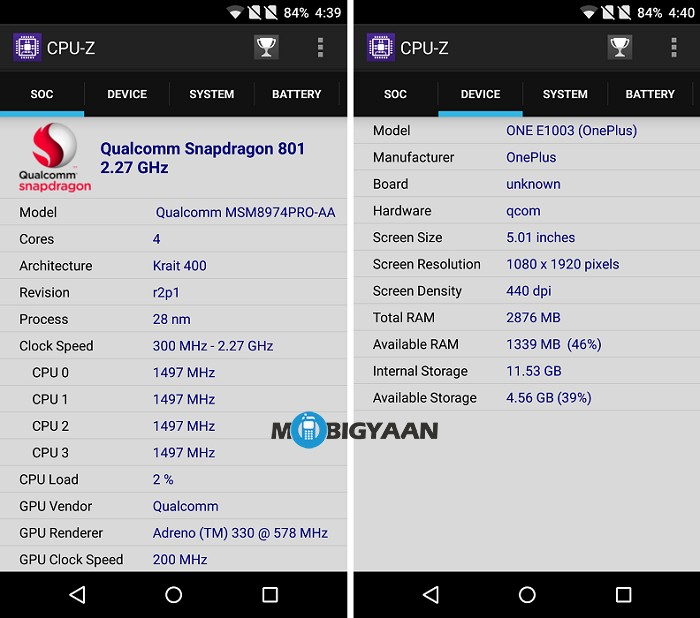 oneplus-x-review-cpu-z-stats