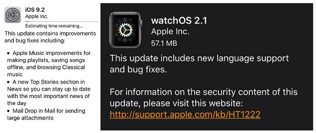 iOS-9.2-and-watchOS-2.1-release