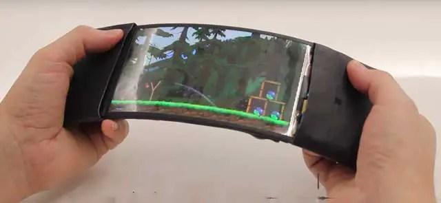 Reflex-bendable-smartphone-prototype