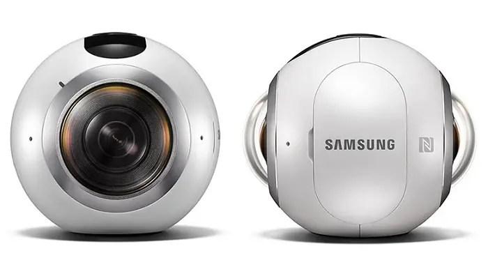 Samsung Gear 360 unveiled, shoots 360-degree videos