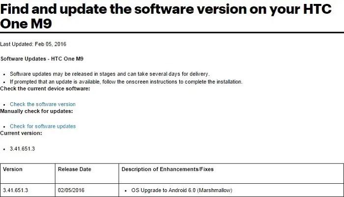 htc-one-m9-sprint-marshmallow-update-document