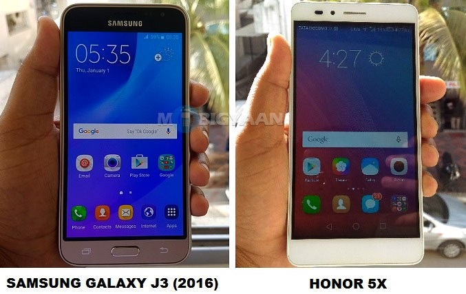 Honor-5X-vs-Samsung-Galaxy-J3-2016-Specs-Comparison
