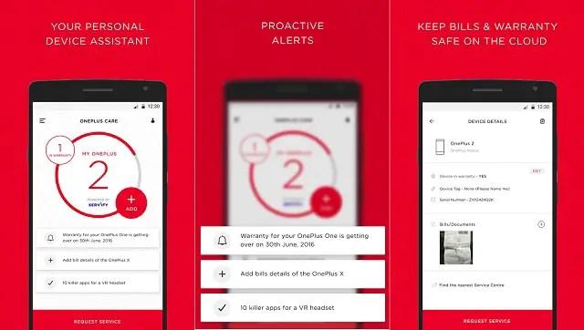 one-plus-care-app