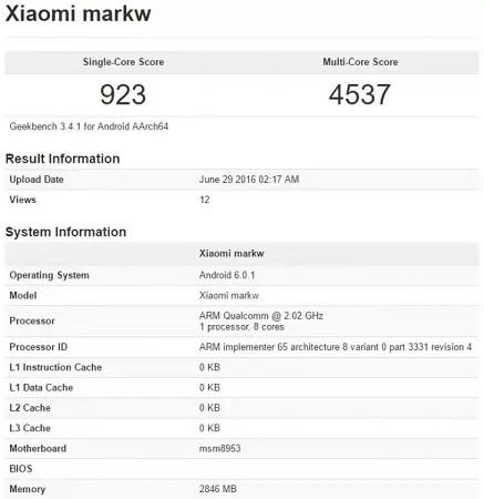 xiaomi-markw-benchmark-leak