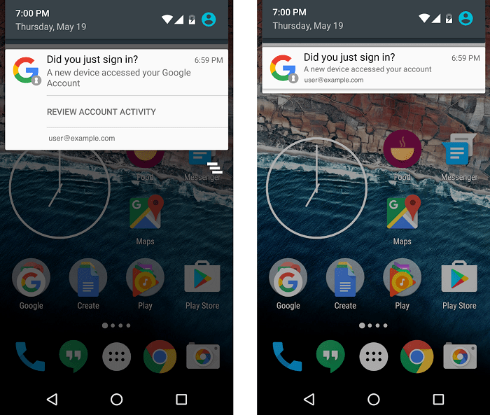 android-native-notifications-on-log-in