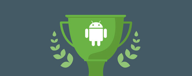 trophy-with-android-robot
