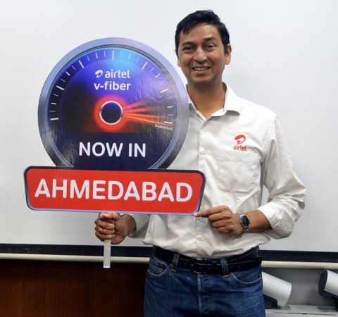 Airtel-V-Fiber-Ahmedabad-launch