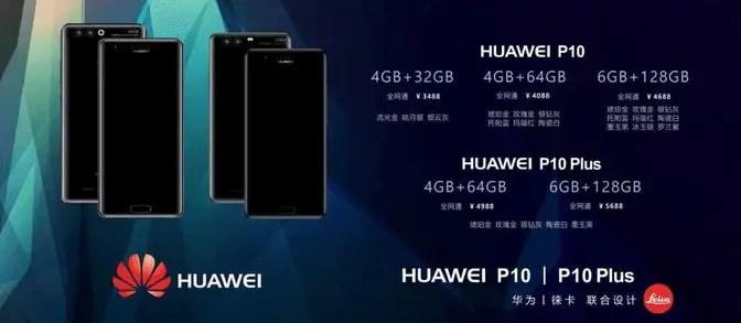 Huawei-P10-Huawei-P10-Plus-pricing