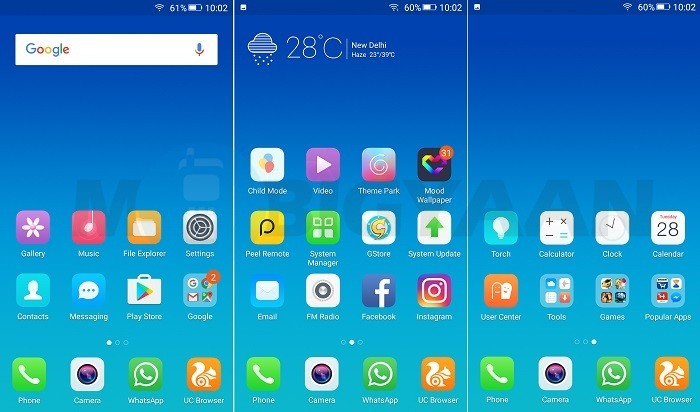 gionee-a1-first-impressions-sfotware-homescreen