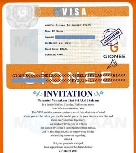 gionee-a1-india-launch-invite