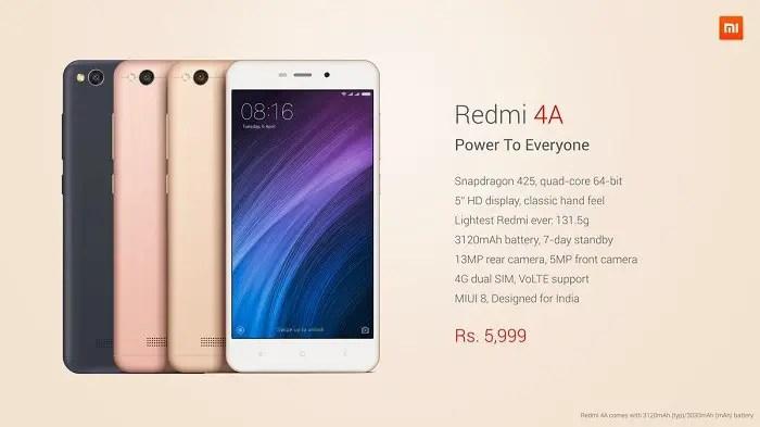 xiaomi-redmi-4a-india