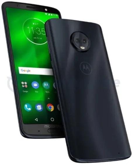 Moto E5 with Rear Fingerprint Sensor Leaked Online