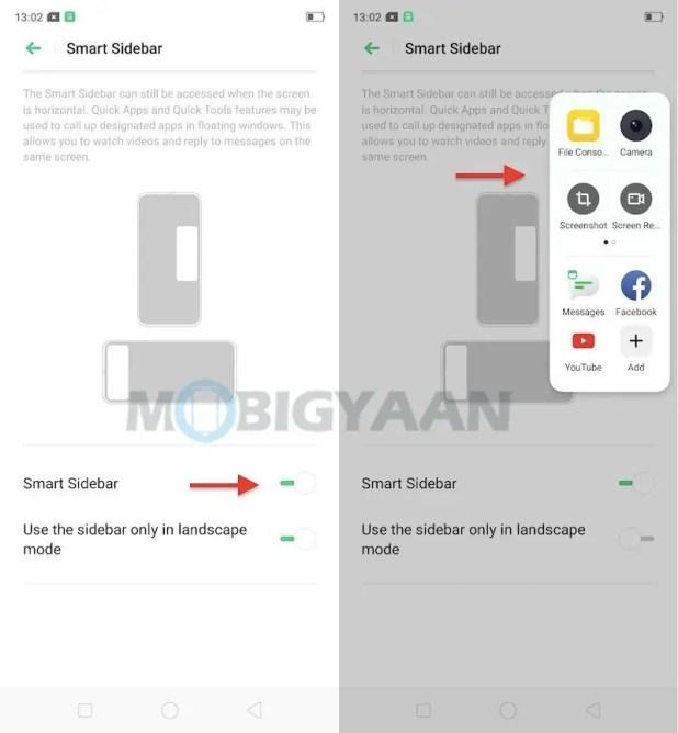 Smart-Sidebar-Realme-XT