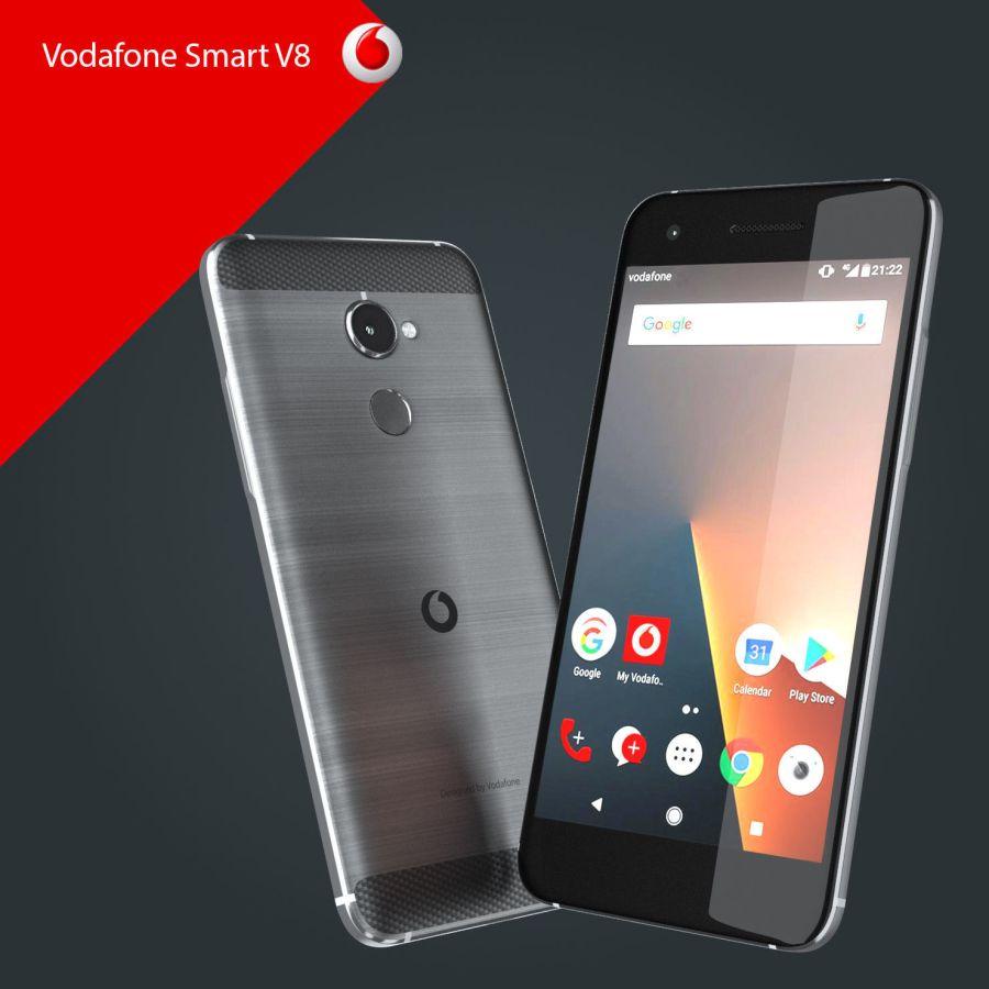 مراجعة هاتف فودافون Vodafone Smart V8