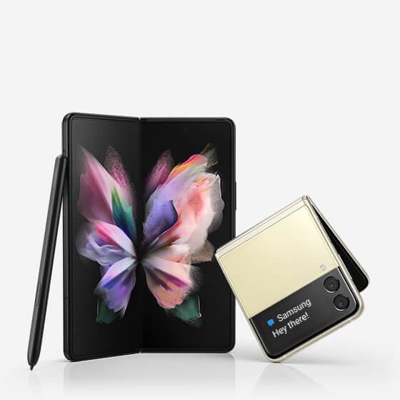 فتح باب الحجز على هواتف Samsung الجدية القابلة للطي
