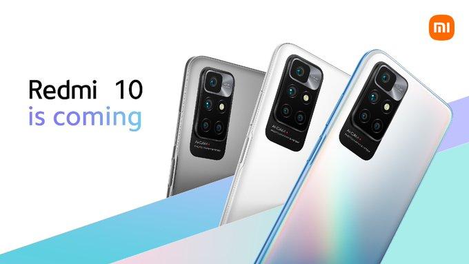 هاتف Xiaomi Redmi 10 قادم إلى السوق المصري خلال أيام