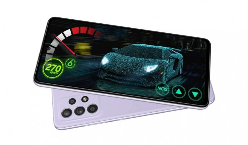 اطلاق Samsung Galaxy A52s 5G في السوق المصري بكميات قليلة
