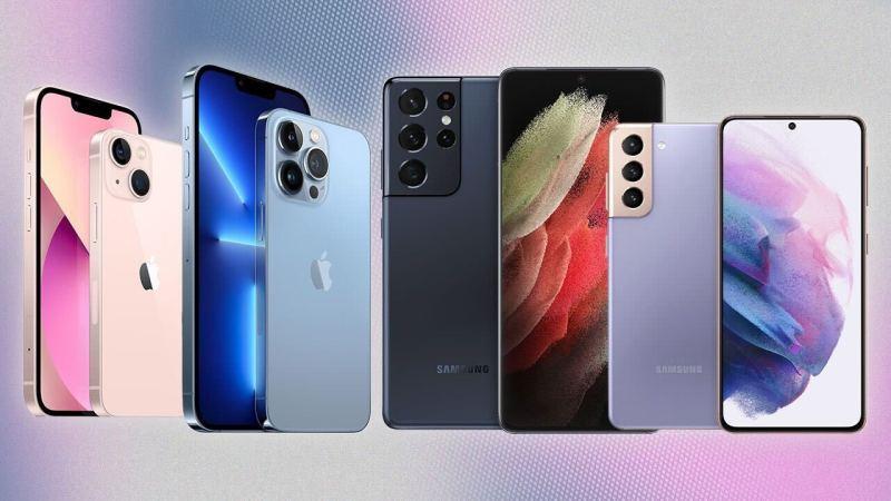 مقارنة سلسلة iPhone 13 مع سلسلة Galaxy S21