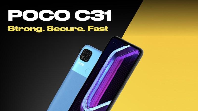 مزايا وعيوب هاتف Poco C31 الاقتصادي الجديد