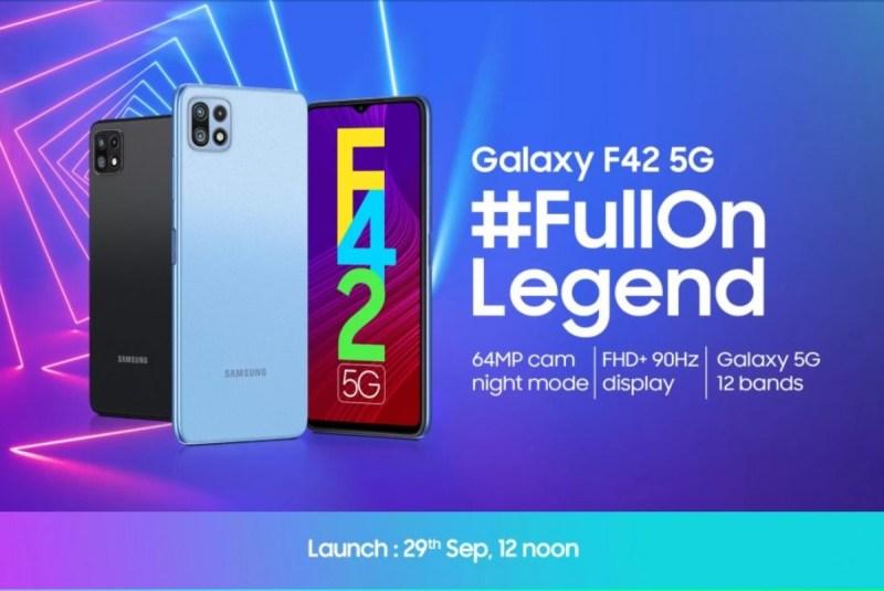 سامسونج تكشف عن Galaxy F42 5G بمستشعر رئيسي 64 ميجا بيكسل