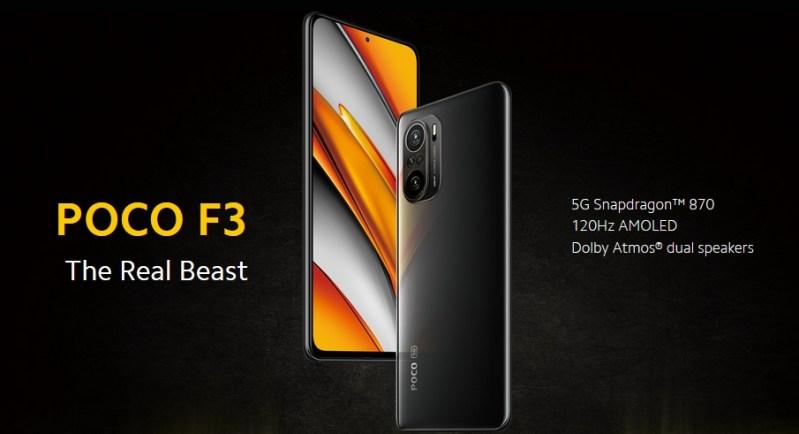 مقارنة Poco F3 مع Samsung A52s
