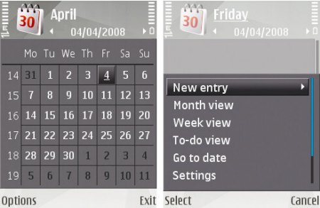 N81 Kalenteri