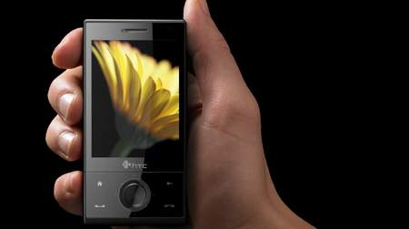 HTC Touch Diamond hand