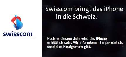Swisscom iPhone