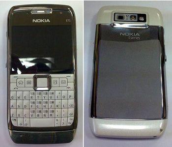 Nokia E71 valkoinen