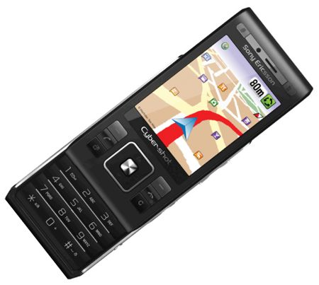 Sony Ericsson C905 WayFinder