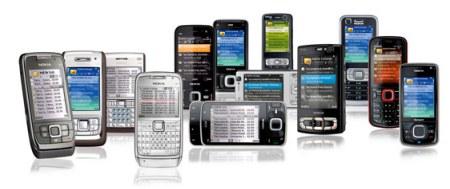 Nokia puhelimia