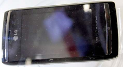 LG GC900 Viewty II live