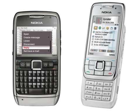 Nokia E71 ja E66