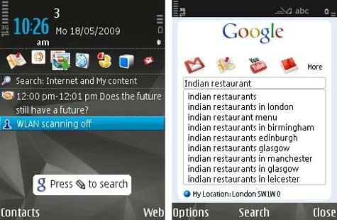 Google Mobile App S60