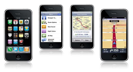 TomTom iPhone